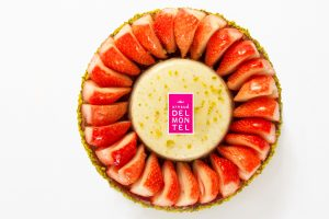 tarte fraise GROS PLAN