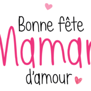 Carte Bonne fête Maman d'Amour - Fête des mères Arnaud Delmontel