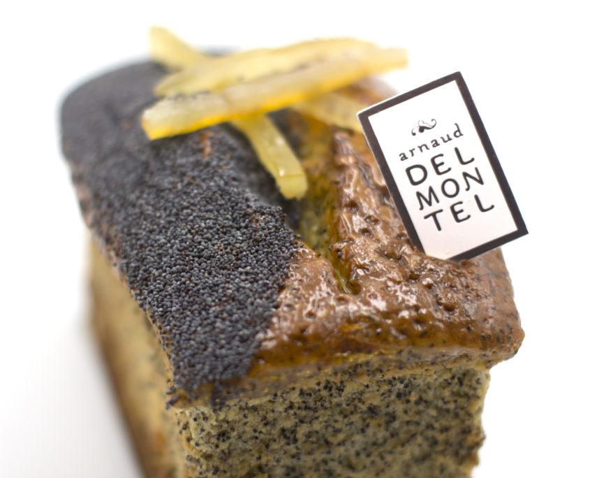 Cake Citron-Pavot d'Arnaud Delmontel