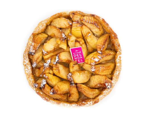 Tarte aux pommes traditionnelle par Arnaud Delmontel