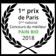 Arnaud Delmontel 1er prix de Paris concours BIO