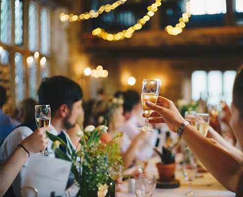 Réception, mariage, événements